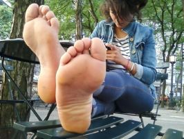 wide beautiful teen soles by footboy134