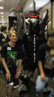 Gigan and I at G-Fest by SephirothZilla