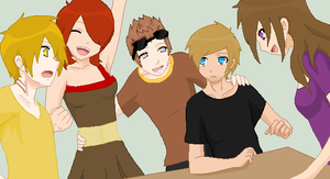 We're like a Family! by ChibiPewdie