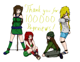 Thanks for 100k pageviews! by Kendrian