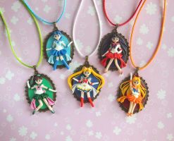 Sailor Moon Inner Senshi Cameos by LittleBreeze