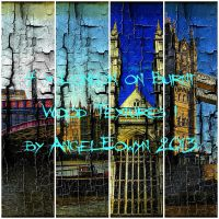 London on Burnt Wood Texture Pack 1 by AngelEowyn