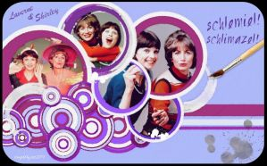 Laverne and Shirley by icaughthejazz