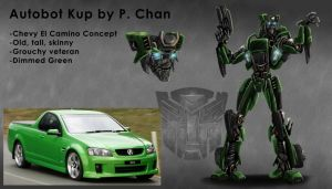 Transformers movie - Kup by agentdc7