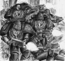 Space Marines by ArianDurel