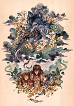 Wolf Children by creepyfish