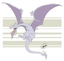POKEDDEX DAY 3: Aerodactyl by SharpDressedReptile