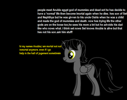 Ask Anubis. by littleshadow3