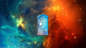 Doctor Who TARDIS wallpaper by immy-amy-alice