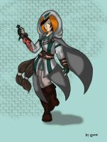Assassin Wino-san by x-Dragonqueen-x
