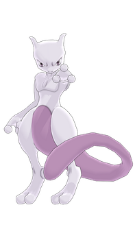 MMD PK Mewtwo DL by 2234083174