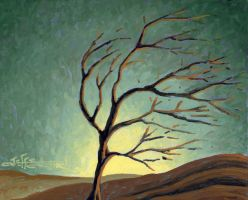 Lone Tree - Just an experiment by Jeff1966