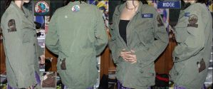 Army Jacket With Patches by x-Goddess-x