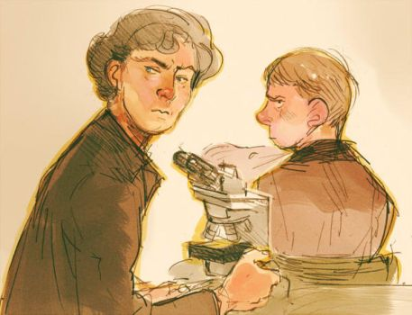 Sherlock request sketch by Barukurii