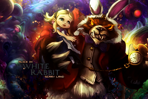White Rabbit by Maniakuk