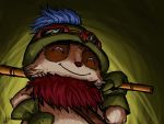 Teemo you should open your eyes for once... or not by Fongfumaster