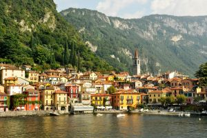 Varenna from Lake Como 1 by wildplaces