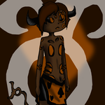spritestuck tavros/for lack of a better name/ by evillovebunny500