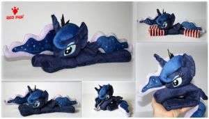 My Little Pony - Princess Luna  - Handmade Plush by Lavim