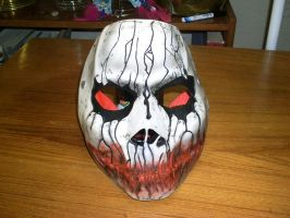 Cast Mask bloody mouth 2 by foxdog77