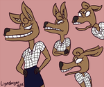 Neurotic Deer by Lynslayer