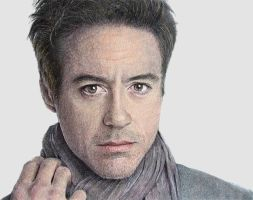 Robert Downey Jr. by ekota21