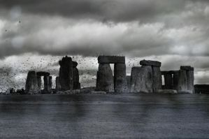 stonehenge by BloodandGasoline