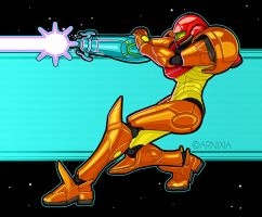 Retro Samus by Arnixia