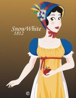 DisneyHistoricDress-Snow White by NoriChama