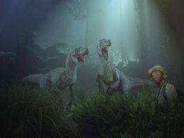 When I was at Jurassic Park by b-lea
