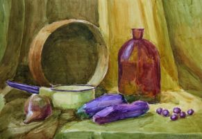 Still Life Drawing6 by creaturedesign