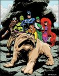 Inhumans-50th-Benton Jew by bentonjew
