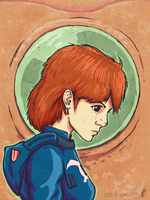Nausicaa of the Valley by bensigas