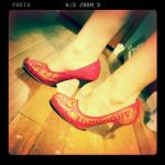Little Red Heels by ninjachocobogirl