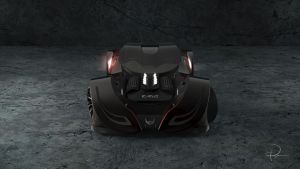 Icarus MC12 E Final Render Front by PaulV3Design