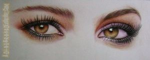 pixie lott eyes by A-D-I--N-U-G-R-O-H-O