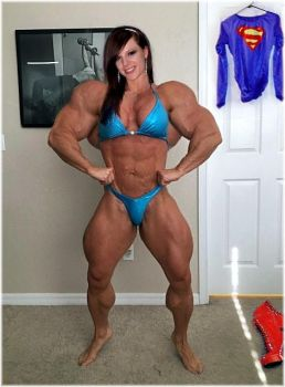 SUPER MUSCLES by SuperGirlStrength