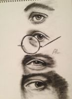 The Beatles' Eyes by Melody-Polly