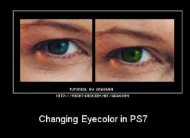 Changing Eyecolor by Aragwen-stock