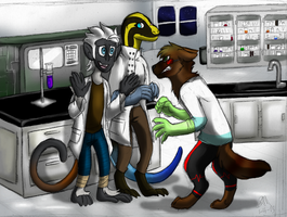 [M-D] Tensity in the Lab by Blairaptor
