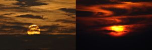 Sunrise and Sunset. by quaddie