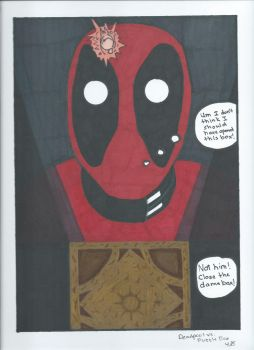 Deadpool meets the Lament Configuration Mashup by inkstress