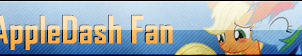 Fan Button: AppleDash Fan by SilverRomance