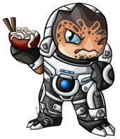 Grunt Chibi by RedPawDesigns