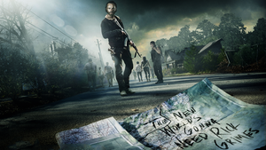 The Walking Dead Season 5 Poster Wallpaper by Mennisian