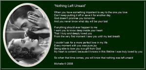 Nothing Left Unsaid by VisualPoetress