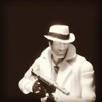 Dick Tracy And The Nior Story style 2 by blackphantom235