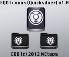Iconos EQO: Quicksilver by NEtapa