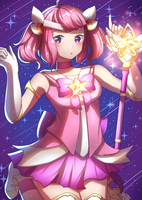 Star Guardian Lux - Collab by Kururew