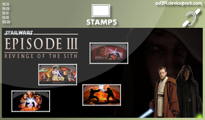 Stamps - 2004 - Star Wars Episode 3 Revenge of the by od3f1